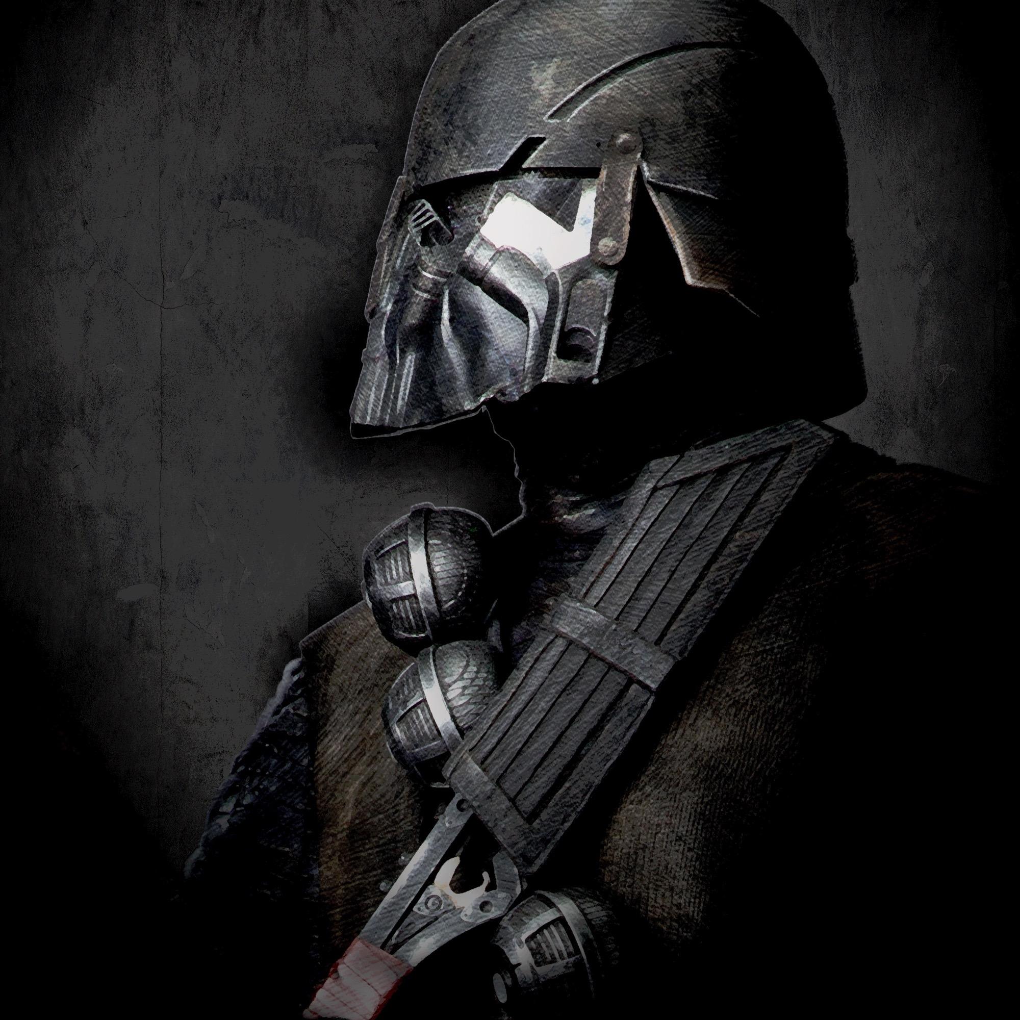 Fond écran Star Wars noir
