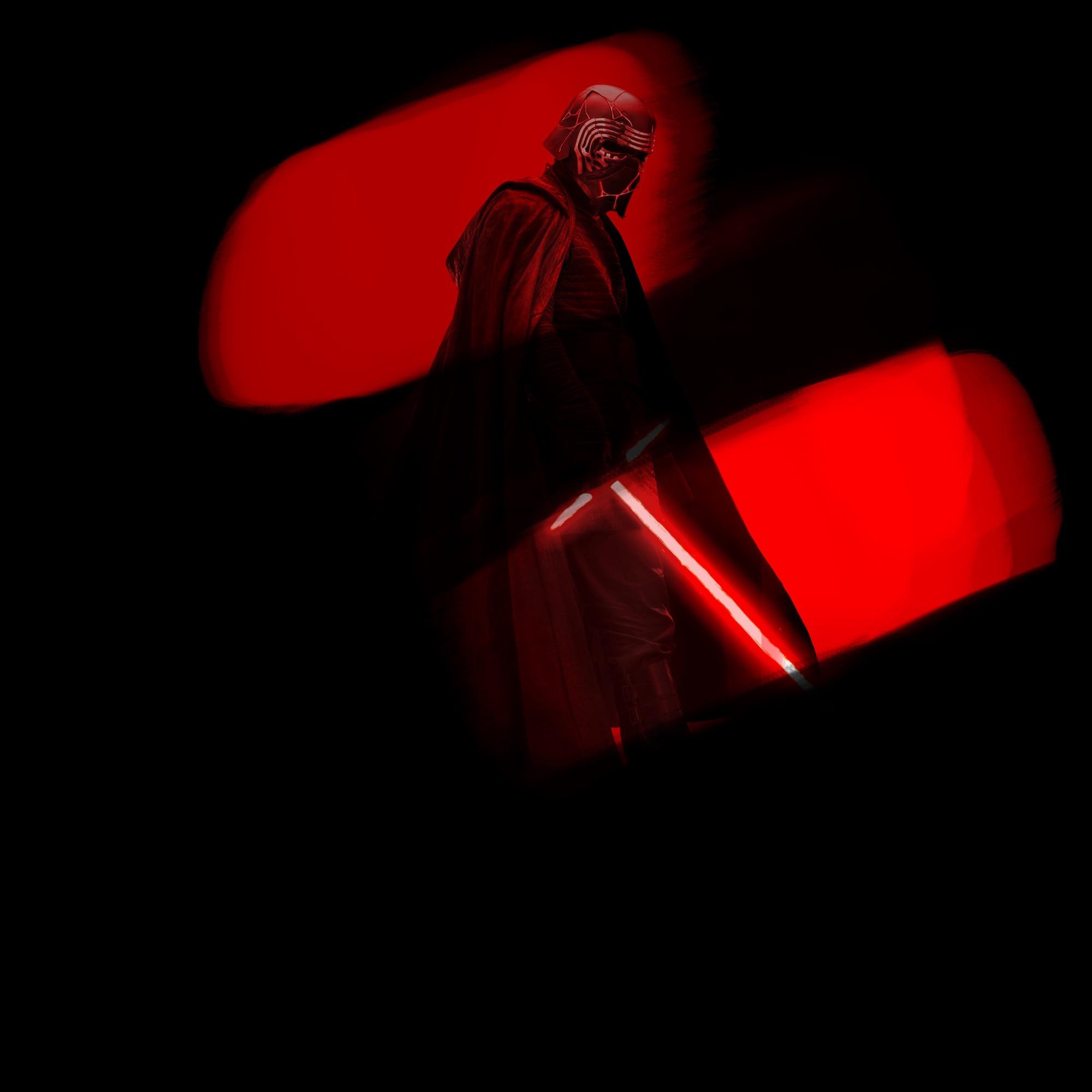 Fond écran Star Wars pour iPhone rouge et noir