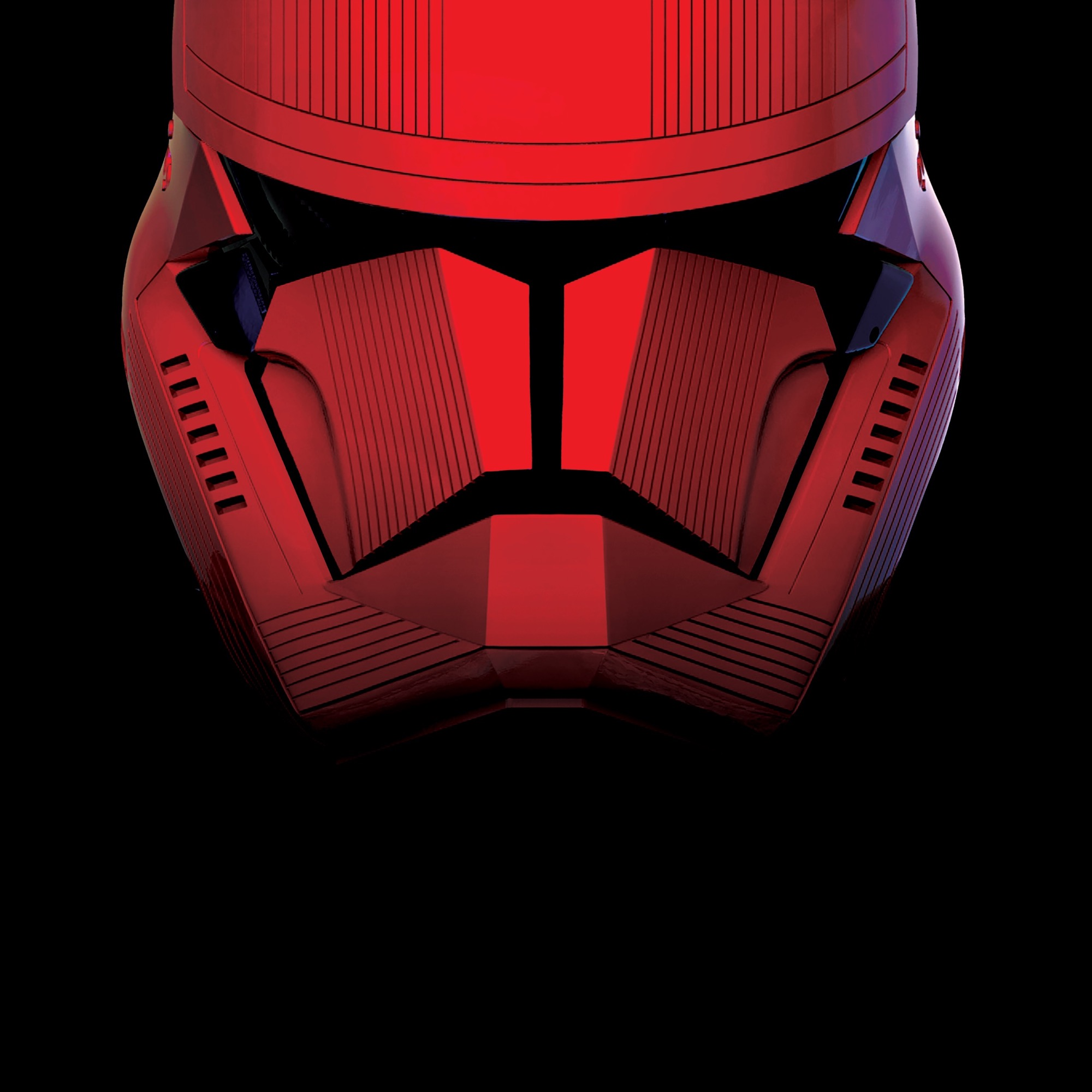 Fond écran Star Wars rouge et noir