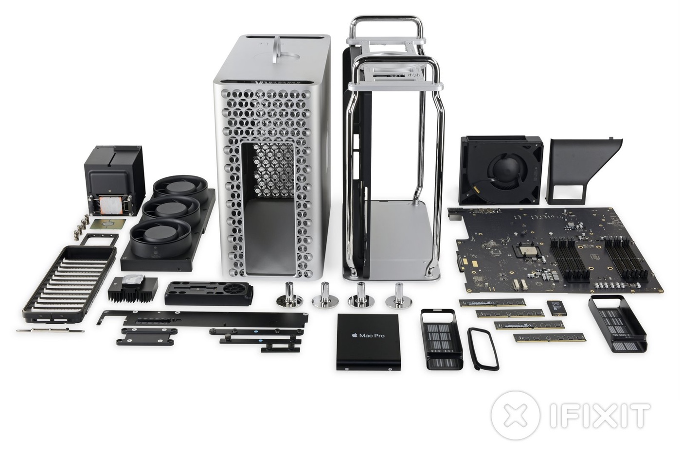 démontage Mac Pro