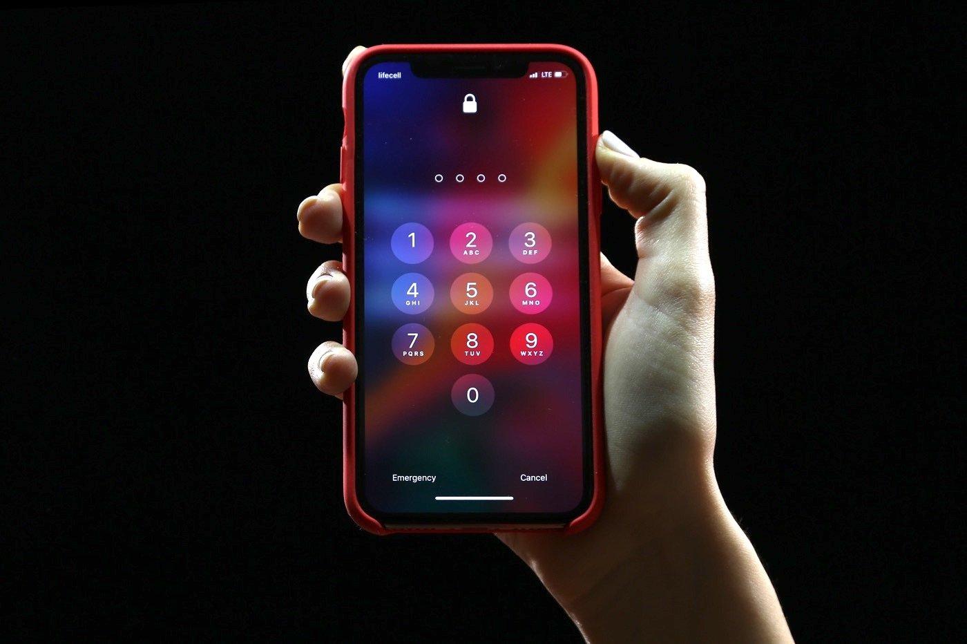 Code iPhone déverrouillage