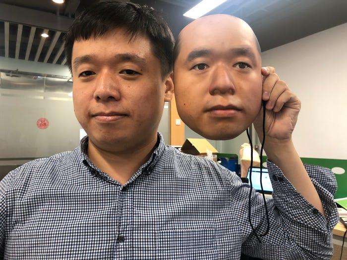 Masque 3D visage