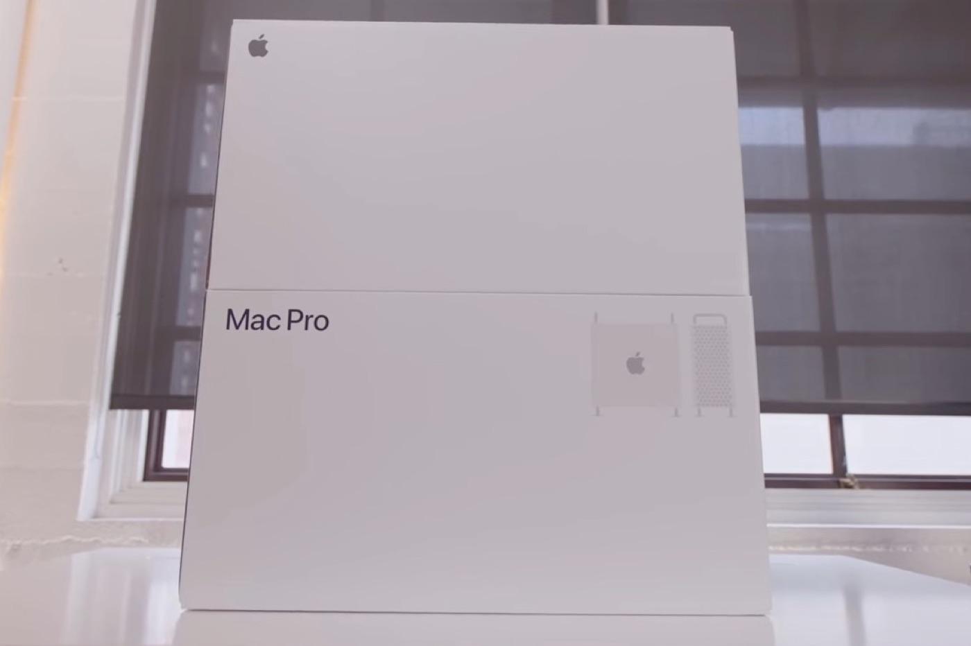 Livraisons Mac Pro et Pro Display WDR