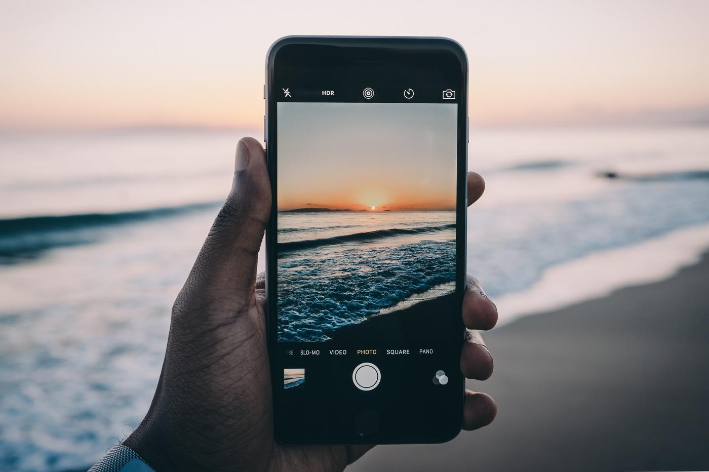 photographie sur iPhone