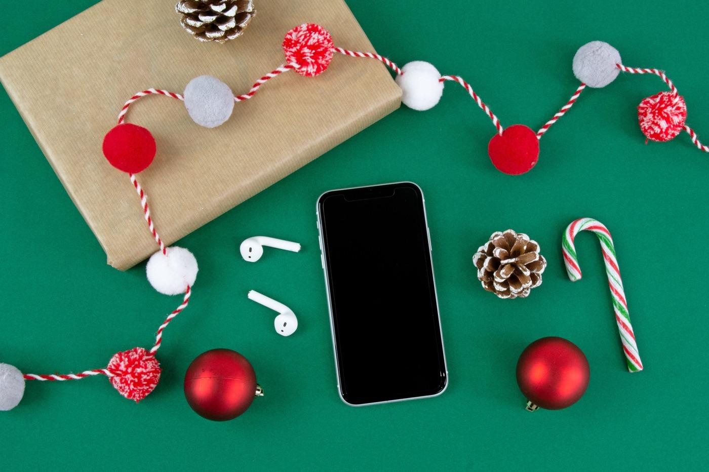 Noël iPhone & AirPods