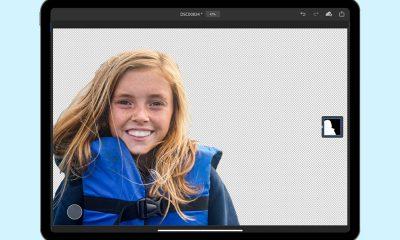outil sélection sujet sur iPad, photoshop