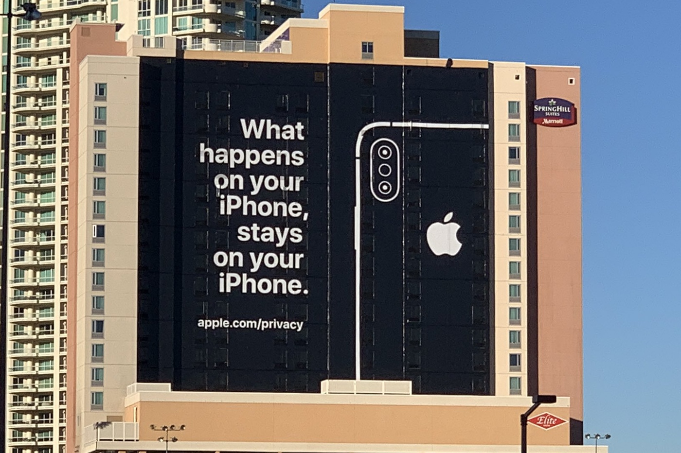 Pub vie privée Apple