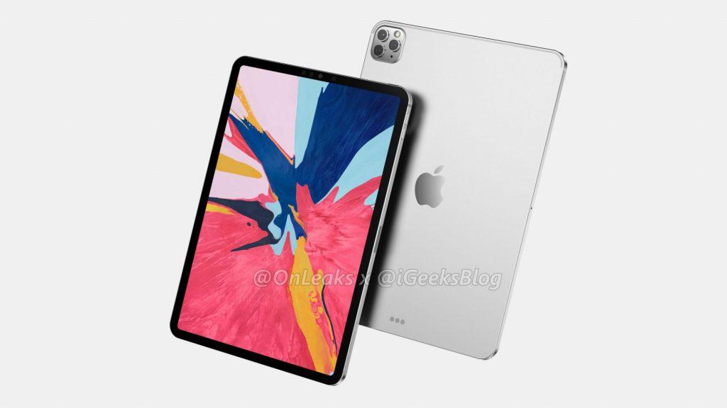 rendu iPad Pro 2020
