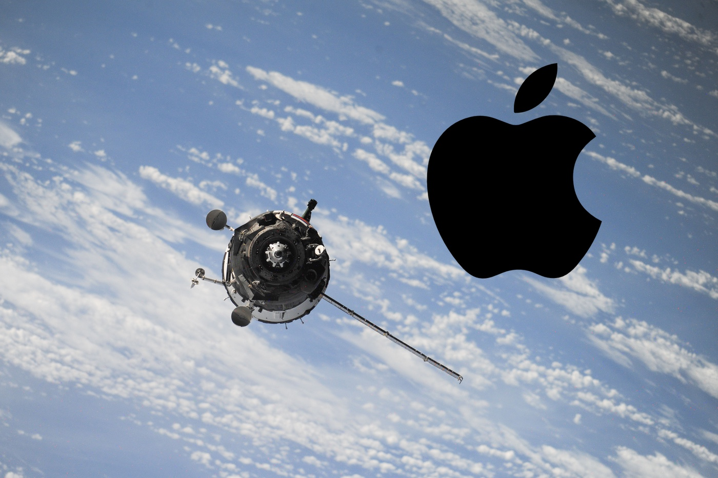 Satellite Apple