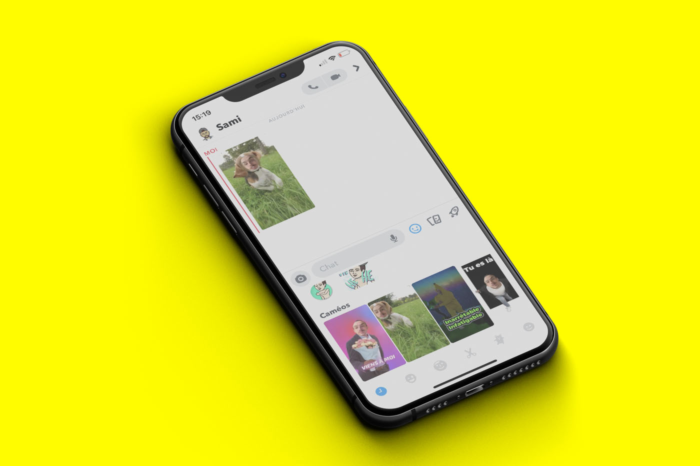 Snapchat Caméos