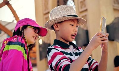 enfants sur iPhone