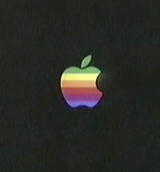Logo Apple en couleurs