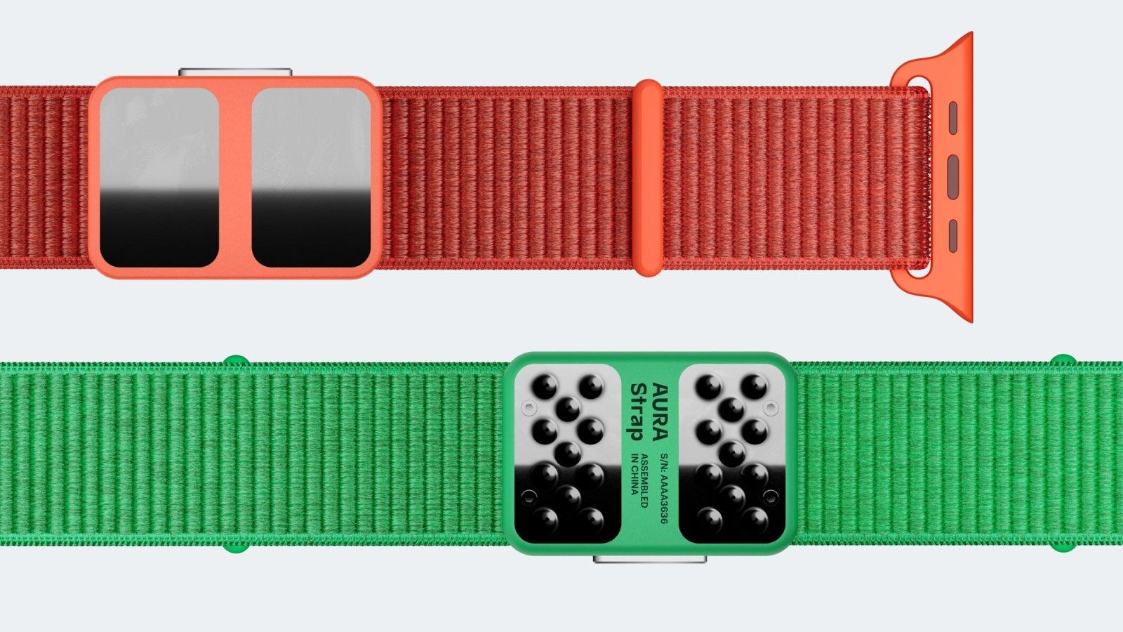 Bracelet intelligent Aura Strap pour Apple Watch