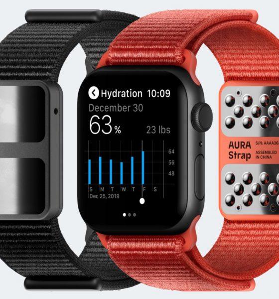 Bracelet intelligent Aura Strap Apple Watch