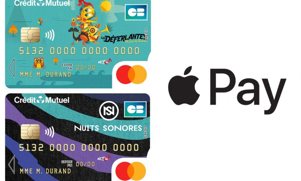 Crédit Mutuel et Apple Pay