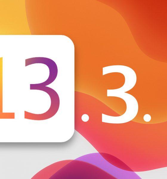 iOS 13.3.1 bêta version