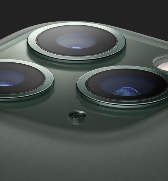 iPhone 11 Pro vert nuit