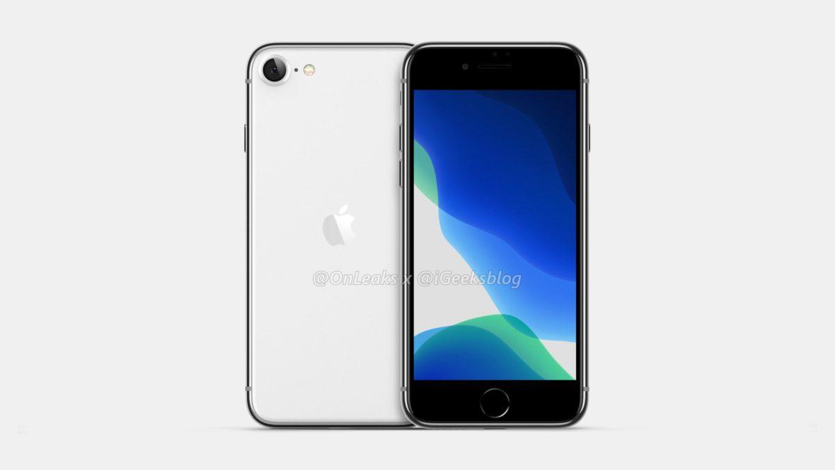 Rendus iPhone SE 2