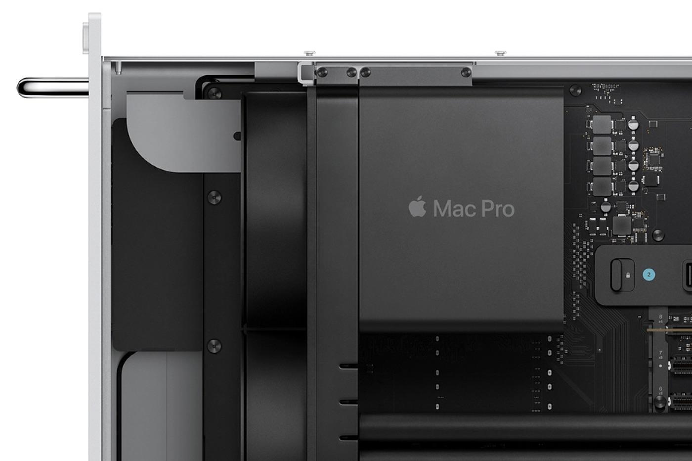 Mac Pro 2019 en format rack