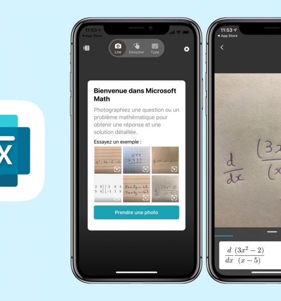 app iPhone Microsoft Math Solver