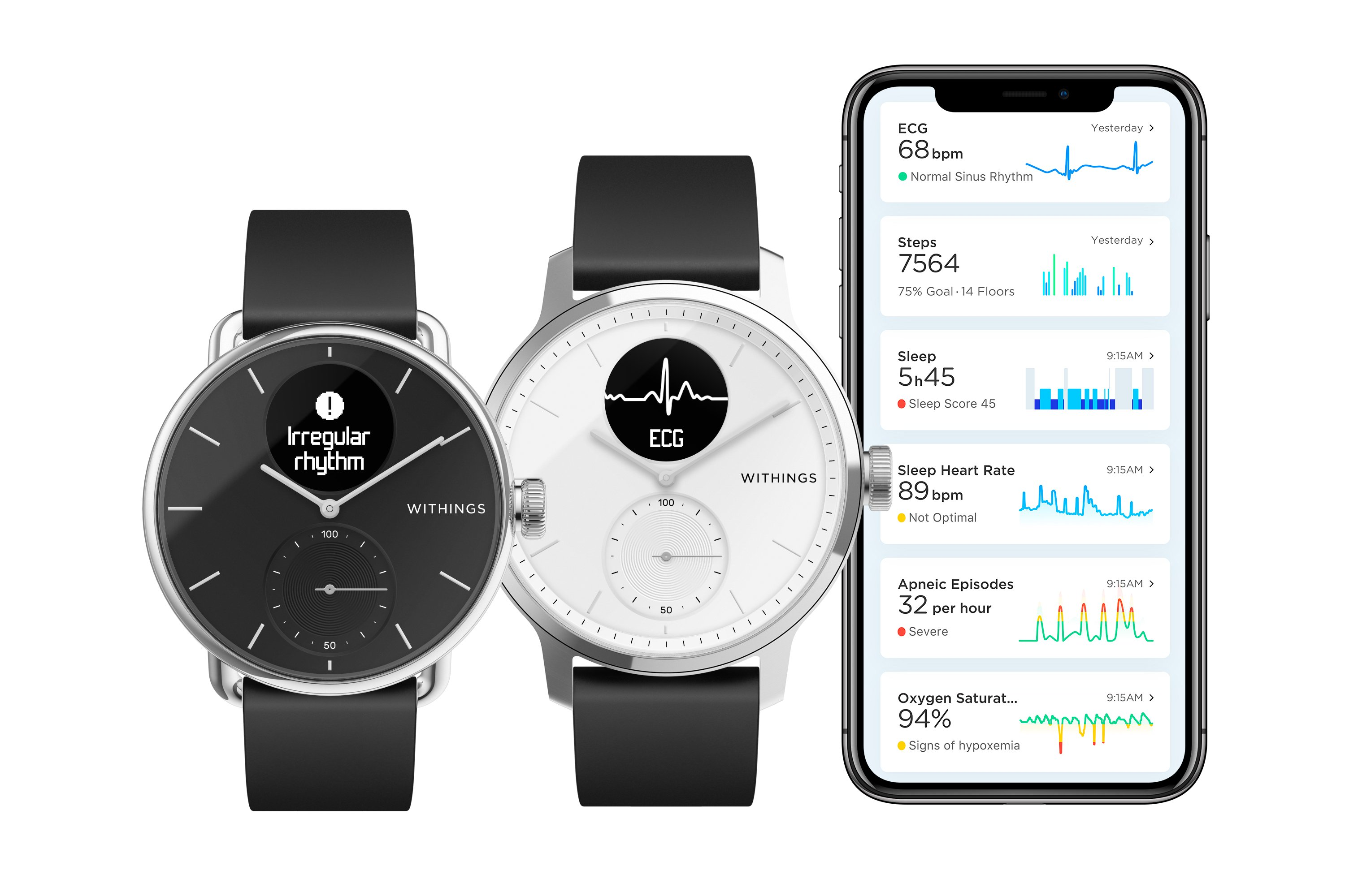 Withings ScanWatch montre connectée sante