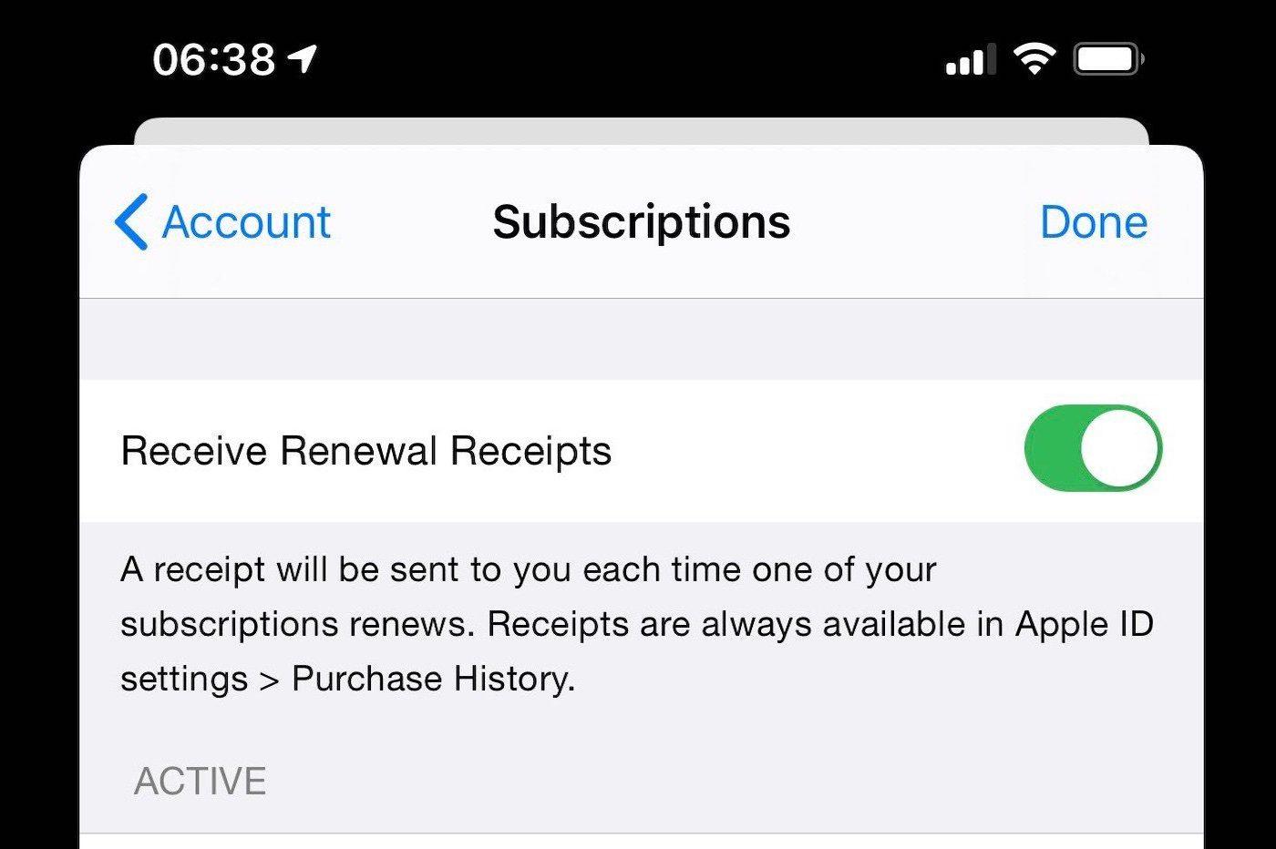 Apple abonnement services