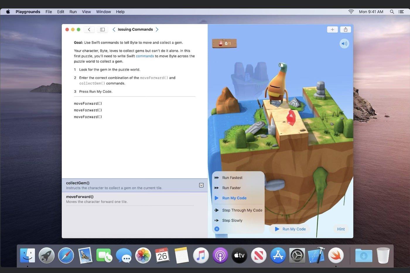Apple Swift Playground Mac