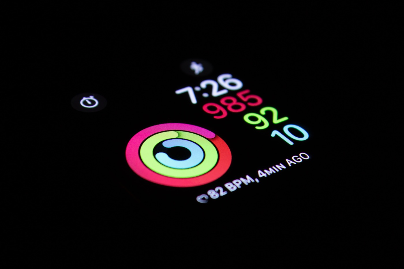 Apple Watch cercles