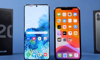 Duel Galaxy S20 Ultra vs iPhone 11 Pro Max