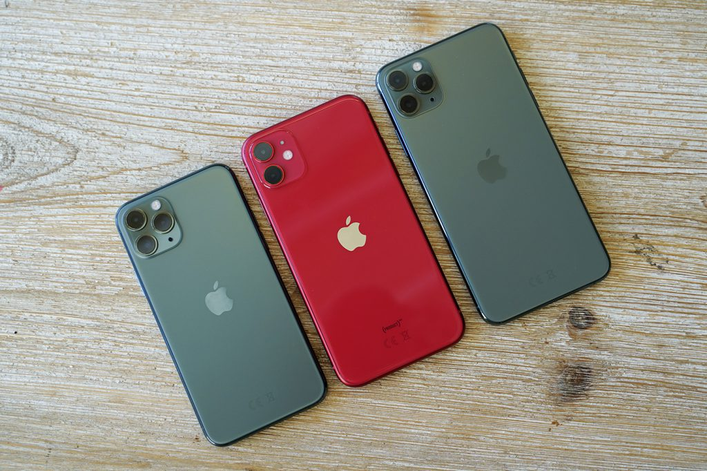 iPhone 11 famille