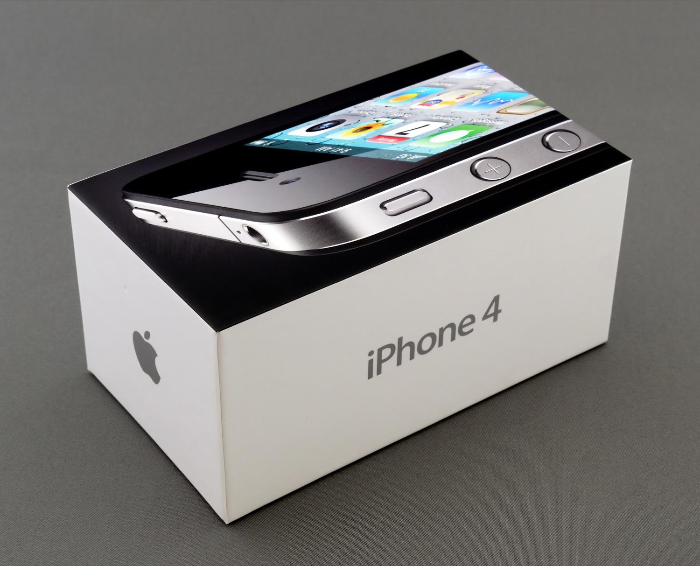 Boîte iPhone 4