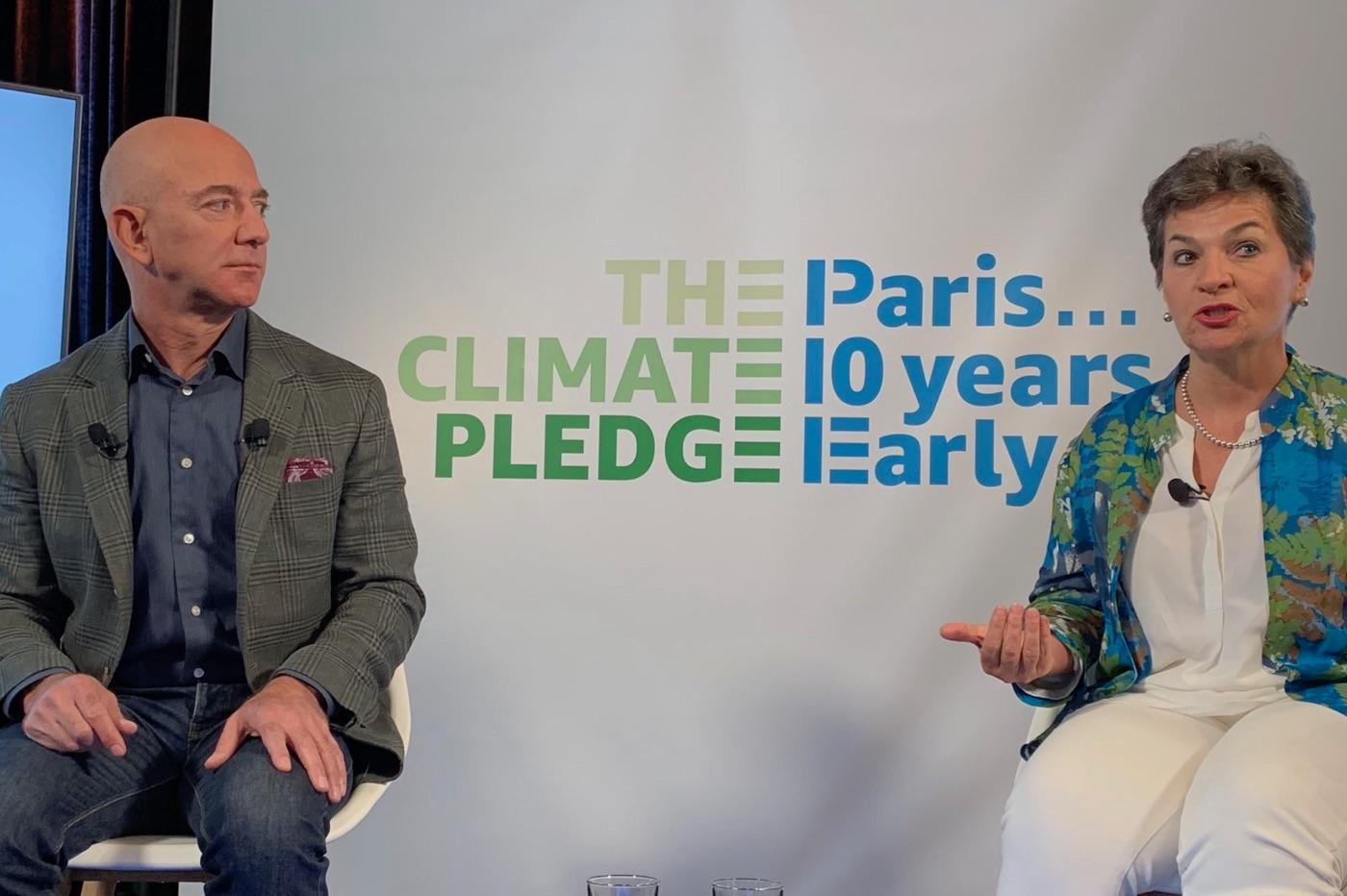 Jeff Bezos pour le climat