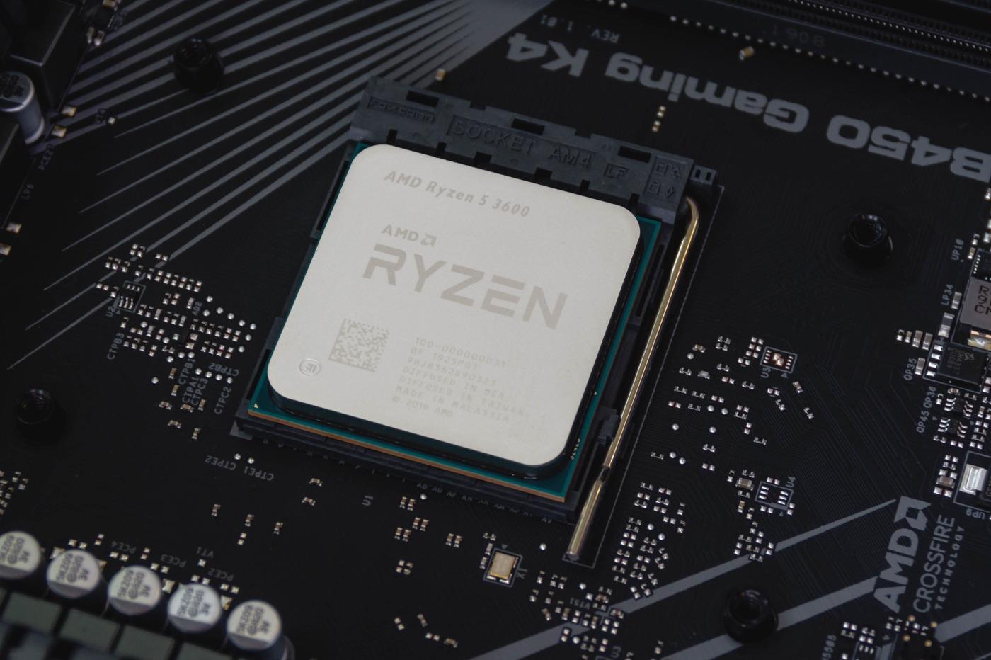 Puce AMD Ryzen