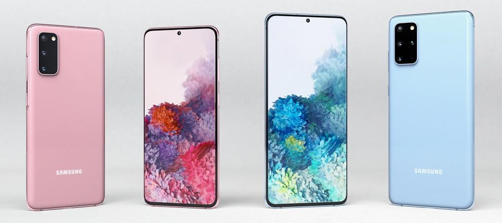 Coloris Samsung Galaxy S20