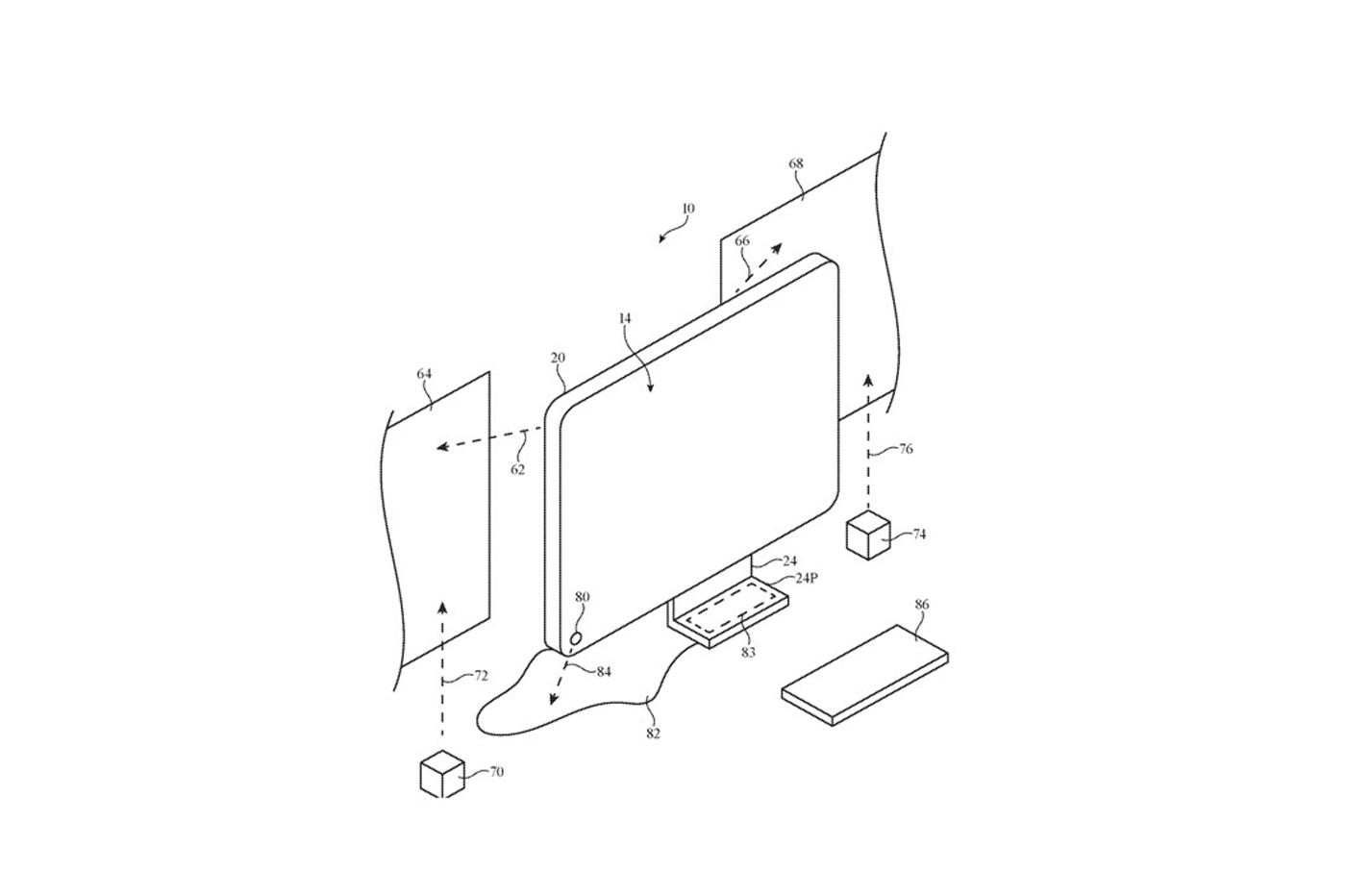 Un iMac à mi-chemin entre le projecteur et un concept-car 1