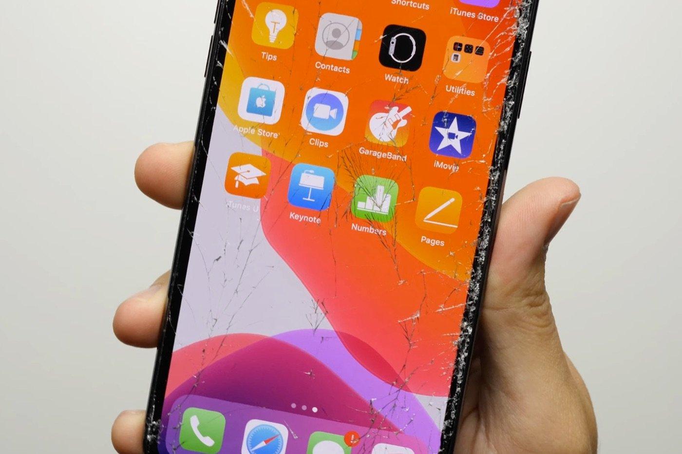 iPhone 11 Pro écran cassé