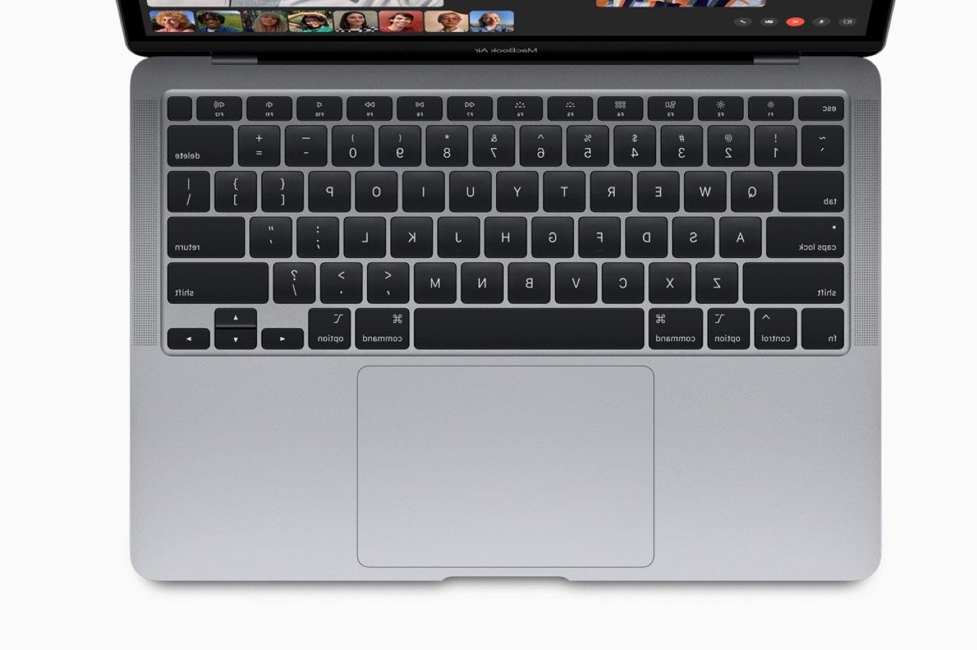 Clavier du MacBook Air 2020