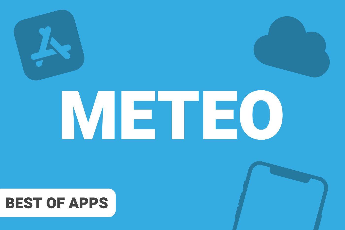 Meilleure application Météo iPhone