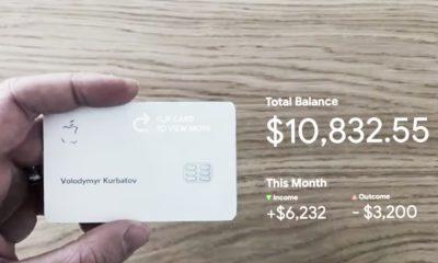 Apple Card réalité augmentée