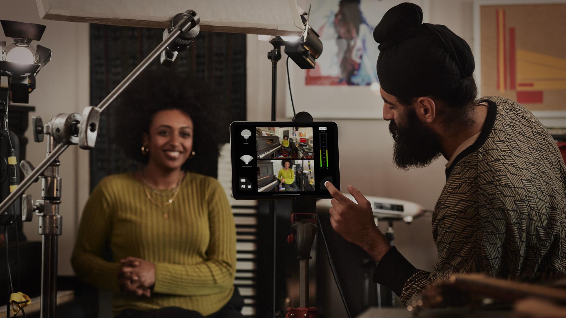 Filmer avec l'iPad Pro 2020