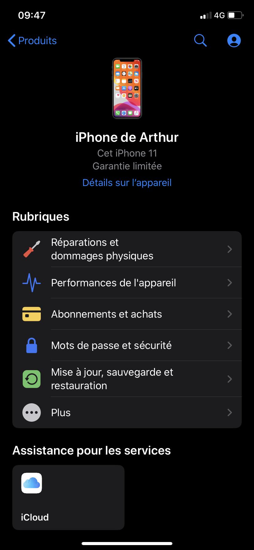 App Assistance Apple