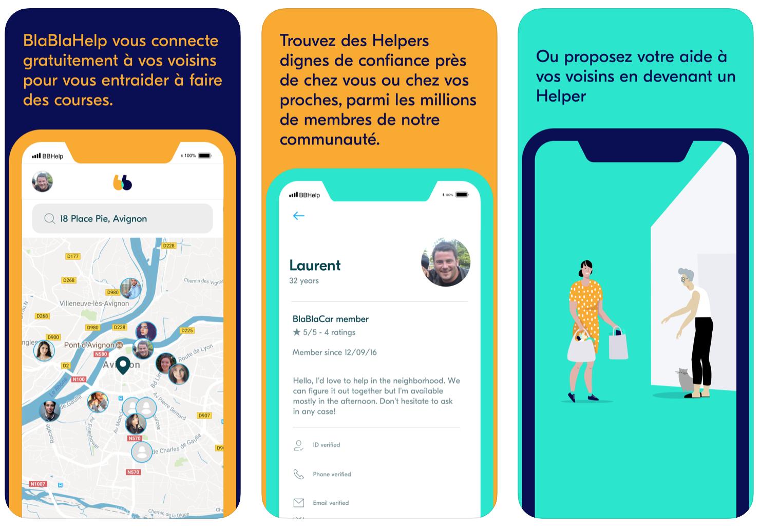 BlaBlaCar BlaBlaHelp app