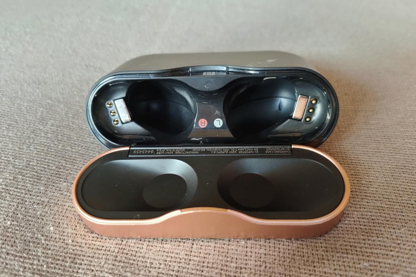 Test des écouteurs sans fil Sony WF-1000XM3 avec un iPhone 11