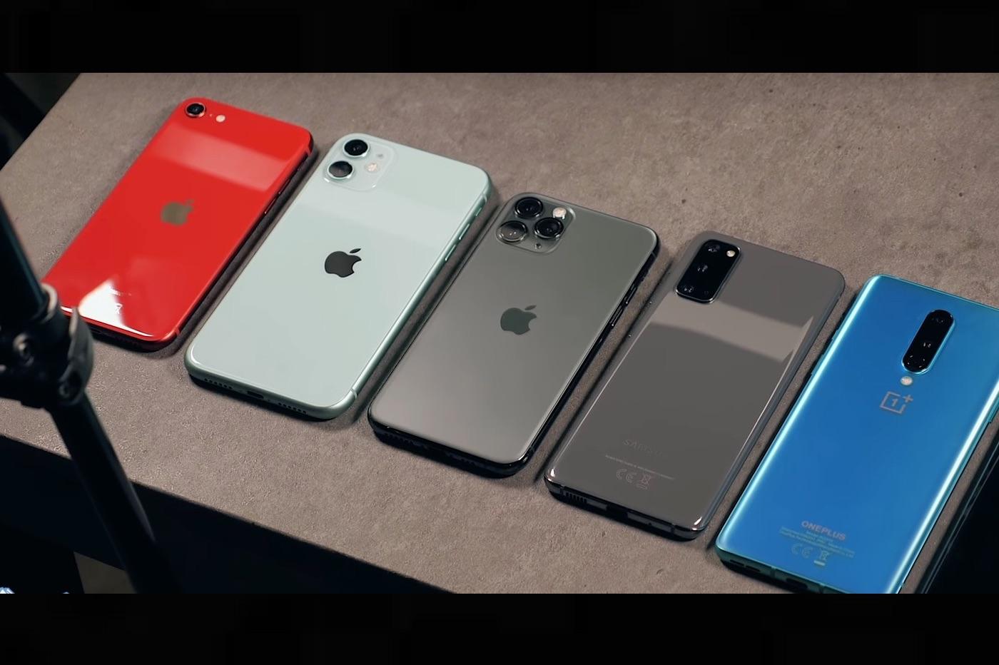 Comparatif batterie iPhone SE