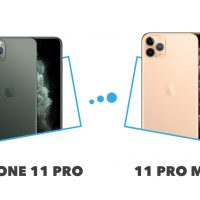 iPhone 11 Pro vs 11 Pro Max