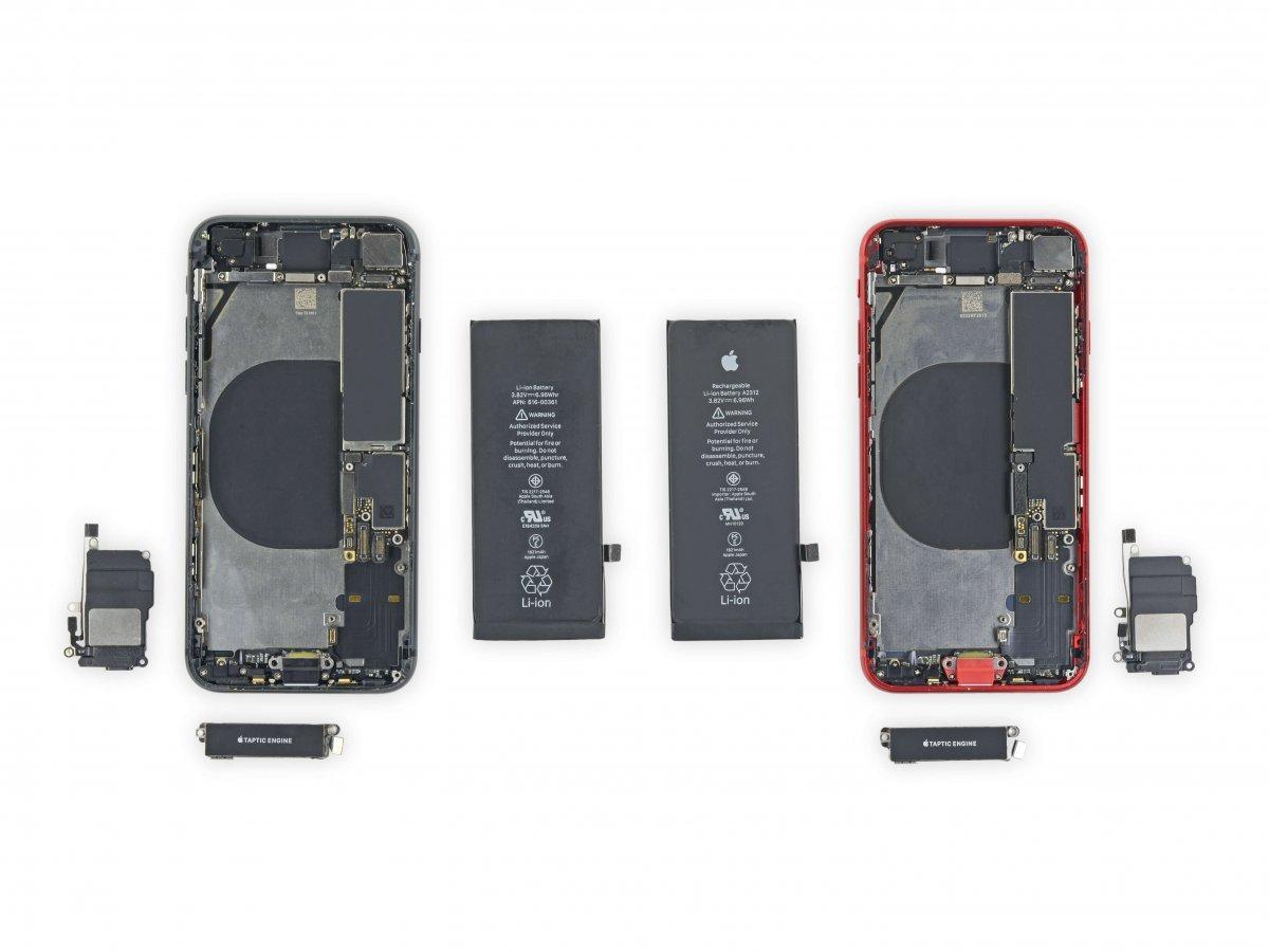 iPhone SE versus iPhone 8