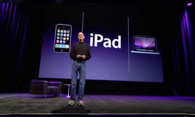 Conférence iPad Steve Jobs