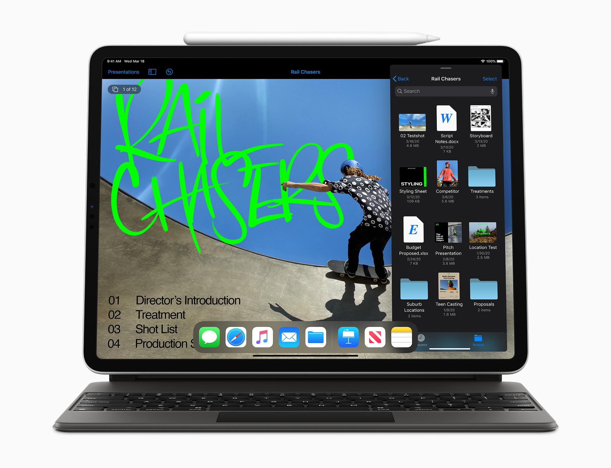 iPad Pro 2020 et Pencil