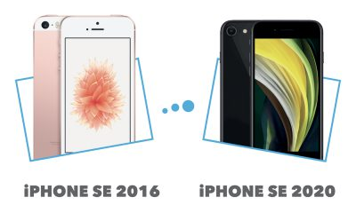 Comparatif iPhone SE 2016 vs iPhone SE 2020