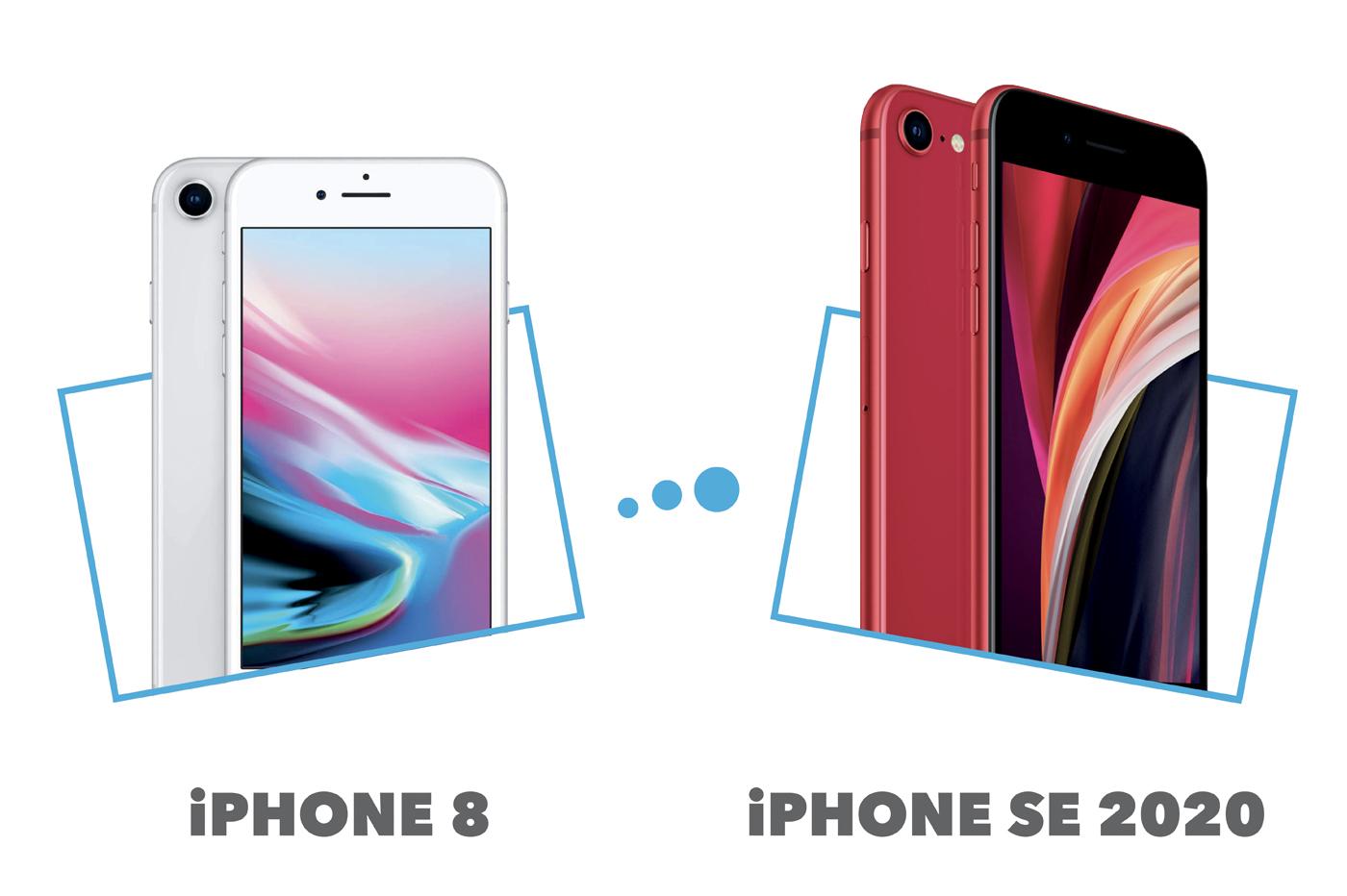 iPhone SE vs iPhone 8